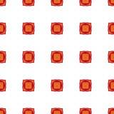 Muladhara - chakra de la raíz El símbolo del primer chakra Vector Imágenes de archivo libres de regalías