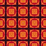 Muladhara - chakra de la raíz El símbolo del primer chakra Vector Fotografía de archivo