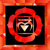 Muladhara chakra Royalty Free Stock Images