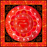 Muladhara chakra Royalty Free Stock Photos