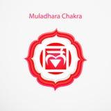 Muladhara chakra Stock Images