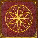 Muladhara-Wurzel chakra Stockbild