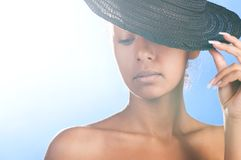 Mulatto beauty Stock Photos