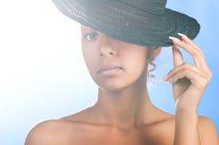 Mulatto beauty Stock Photos