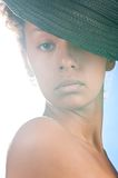 Mulatto beauty Royalty Free Stock Image