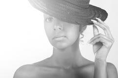 Mulatto beauty Stock Photo