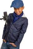 Mulatto boy Stock Photo