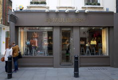 Mulberry Fashion Store Royalty Free Stock Images