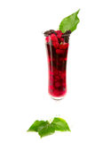 Mulberry juice. Royalty Free Stock Images
