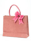Mulberry paper bag Stock Photos