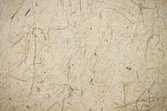 Mulberry paper or handmade paper Stock Image