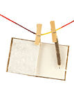 Mulberry paper Notebook Royalty Free Stock Photography