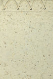 Mulberry paper. With texture background Royalty Free Stock Images