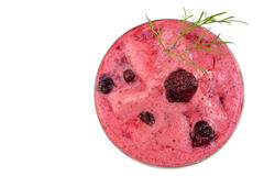 Mulberry smoothie Royalty Free Stock Image