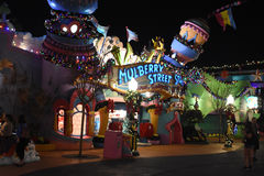 Mulberry St. in Seuss Land at Universal Studios in Orlando, FL Royalty Free Stock Photo