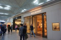 Mulberry Store Stock Photos