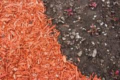 mulch грязи Стоковая Фотография