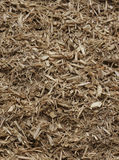 Mulch. Vertical Mulch and Wood Chips Background Texture Stock Image