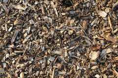 Mulch Background Stock Photography