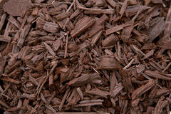 Mulch Brown Decorative Bark Stock Photo