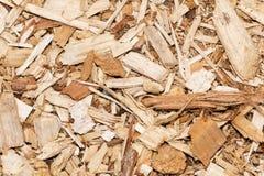 Mulch da casca Fotografia de Stock