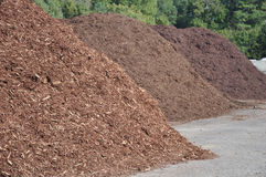 Mulch Piles Stock Images