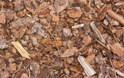 mulchy komposttäckning royaltyfri fotografi