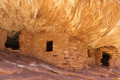 Mule Canyon Puebloan Ruins Royalty Free Stock Image