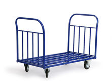 Mule cart. Hand trolley for transporting heavy and large cargo Royalty Free Stock Image