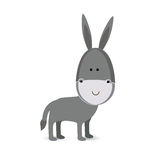 Mule design. Over white background vector illustration Royalty Free Stock Images