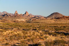Mule Ears. Landscape in Big Bend National Park, Texas Stock Image