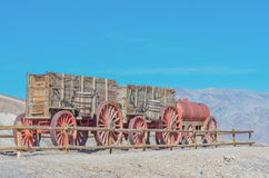 Harmony Borax Works in Death Valley, USA Stock Photography