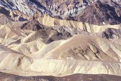 20 mule Team Canyon, Death Valley, la Californie Photographie stock