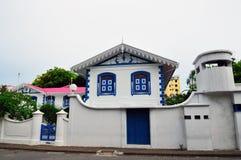 Muleeaage Palace In Maldives Stock Photo