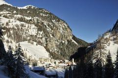 Mulegns, alpi del distretto di Albula, Svizzera Immagini Stock Libere da Diritti