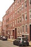 Mulen dag för Boston North End arkitektur arkivfoton
