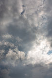mulen sky Royaltyfri Fotografi