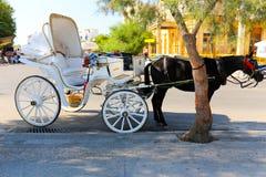 Mules of Hydra island - Greece islands Stock Photography