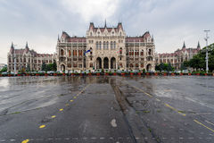 Mulet regnigt för ungersk parlament arkivfoto