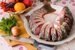Mulet sur une table de cuisine. Photo libre de droits
