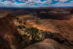 Muley Point Overlook Mexican Hat UT Stock Image