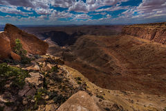 Muley Point Overlook Mexican Hat UT Stock Images
