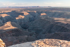 Muley Point. View from Muley Point Overlook, Utah Stock Photos