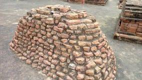 Mulgandha kuti废墟 库存图片