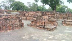 Mulgandha kuti废墟 库存照片