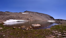 Mulhacen - Sierra Nevada imágenes de archivo libres de regalías
