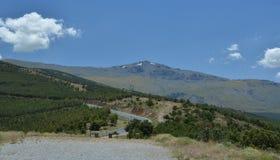 Mulhacen, Sierra Nevada, Spagna Fotografia Stock Libera da Diritti