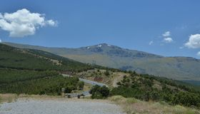Mulhacen, Sierra Nevada, Spain Royalty Free Stock Photography