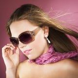 Mulher à moda Foto de Stock