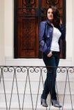 Mulher à moda Fotografia de Stock Royalty Free